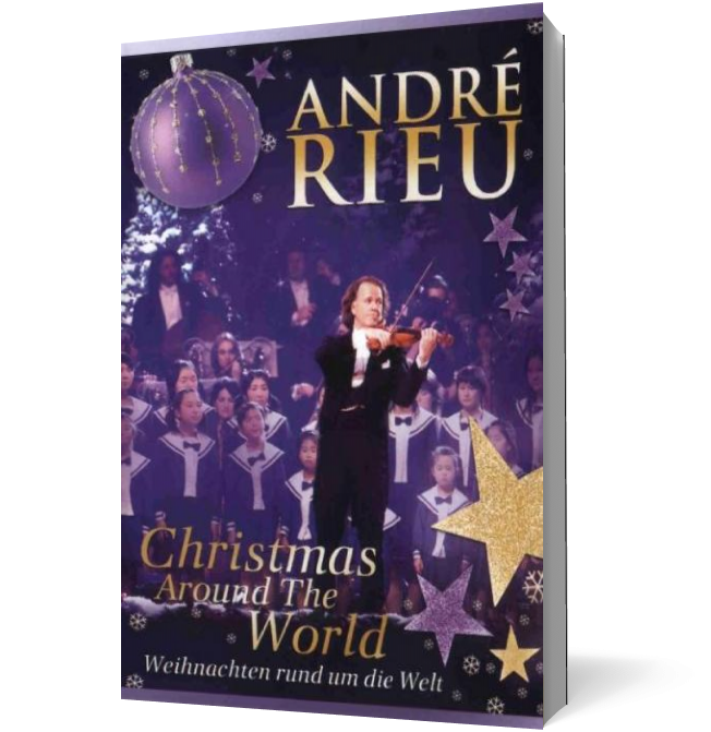 Andre Rieu. Christmas Around the World (DVD) imagine libhumanitas.ro