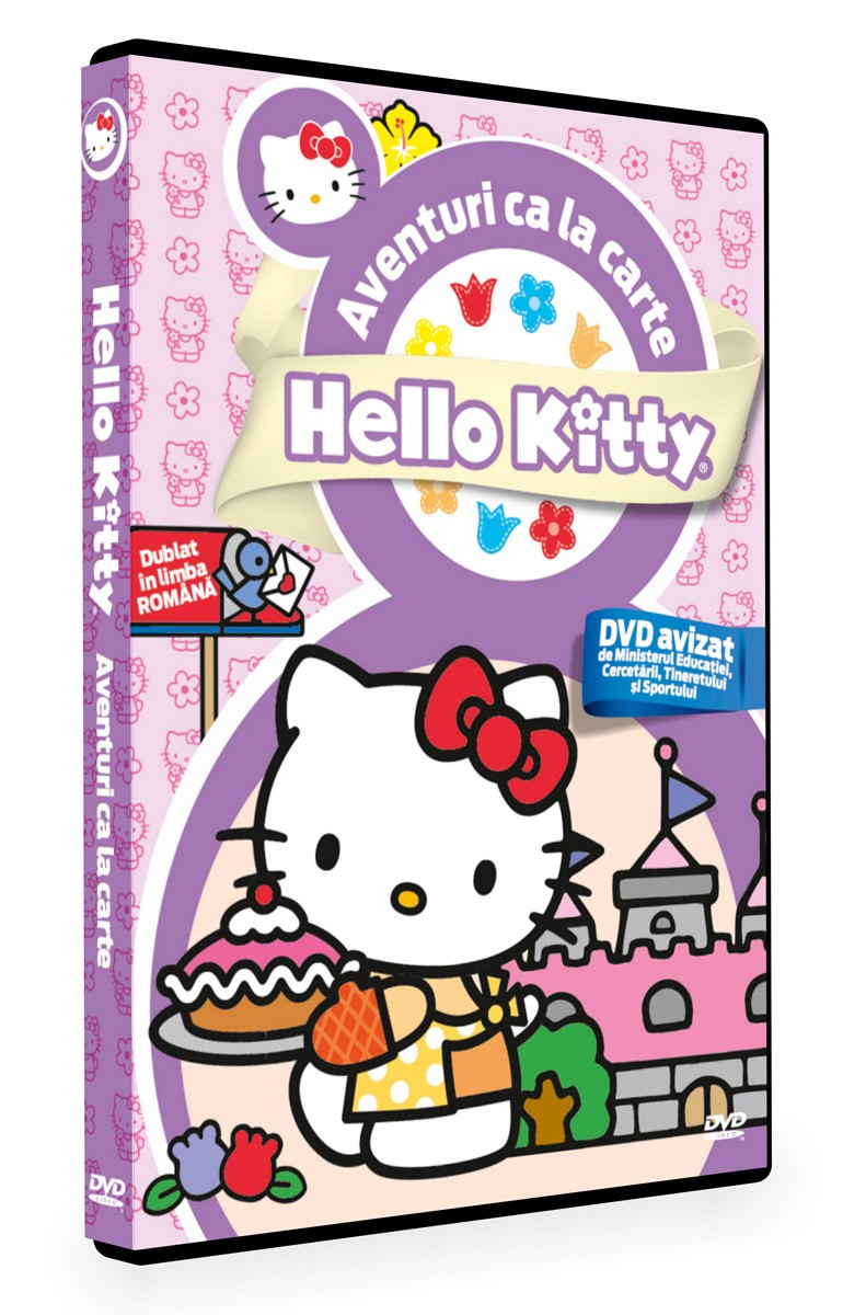 Hello Kitty - Aventuri ca la carte imagine libhumanitas.ro