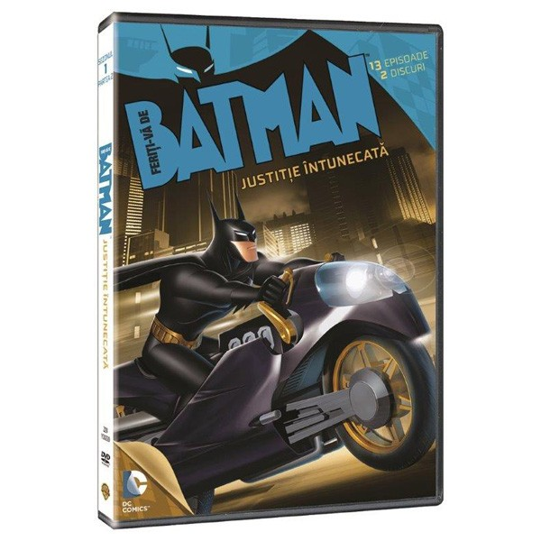 Feriti-va de Batman: Justitie Intunecata (DVD) / Beware the Batman imagine libhumanitas.ro