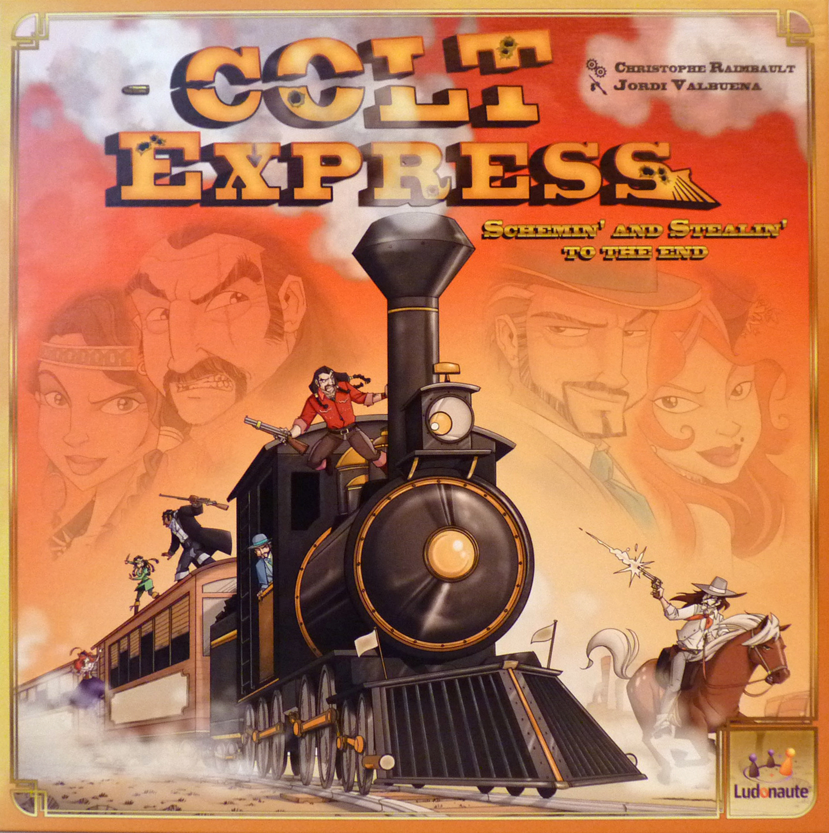 Colt Express imagine libhumanitas.ro