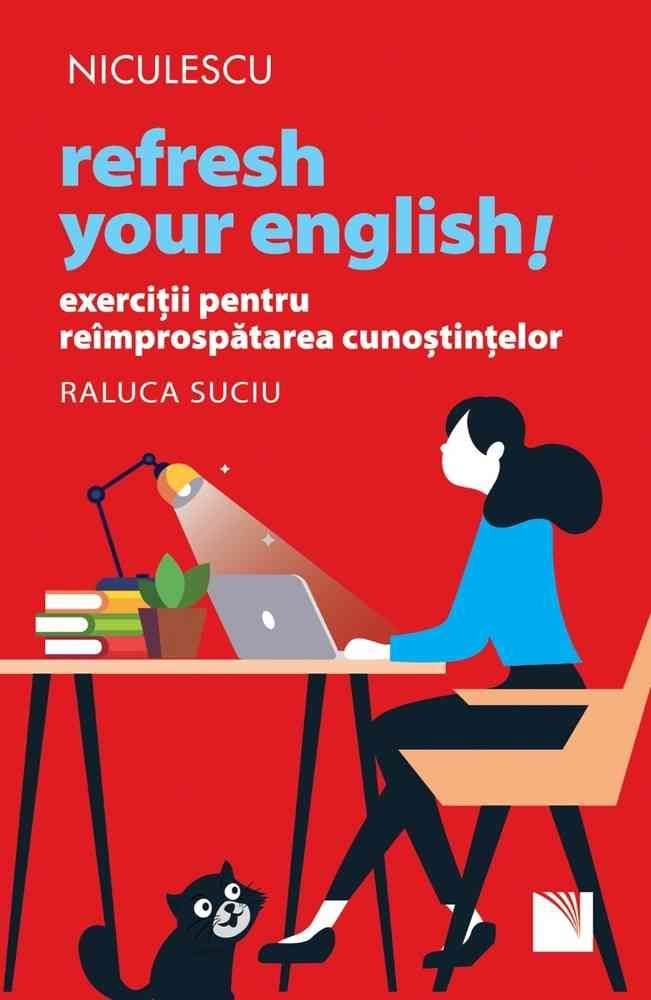 Refresh your English! Exerciții pentru reîmprospătarea cunoștințelor imagine libhumanitas.ro